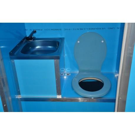 Toaleta ecologica vidanjabila Ibra cu lavoar