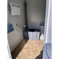 Toaleta ecologica vidanjabila VIP pentru persoane cu dizabilitati / handicap
